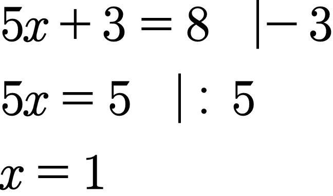 Die Äquivalenzumformung einfach erklärt mit Beispielen und Aufgaben ...