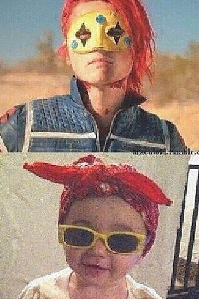 Gerard way and his daughter bandit lee way | g way ...