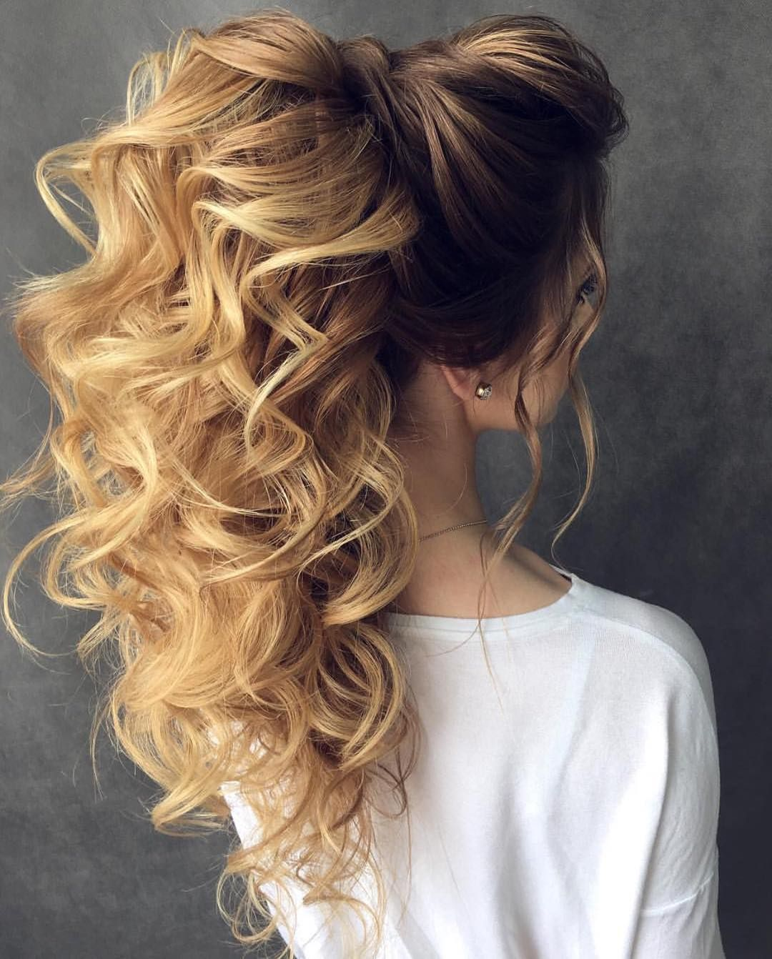Как сделать пышный хвост из волос фото 54