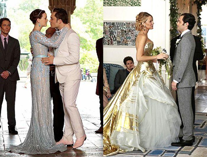 Gossip Girl wedding dresses Georges Chakra GG Pinterest