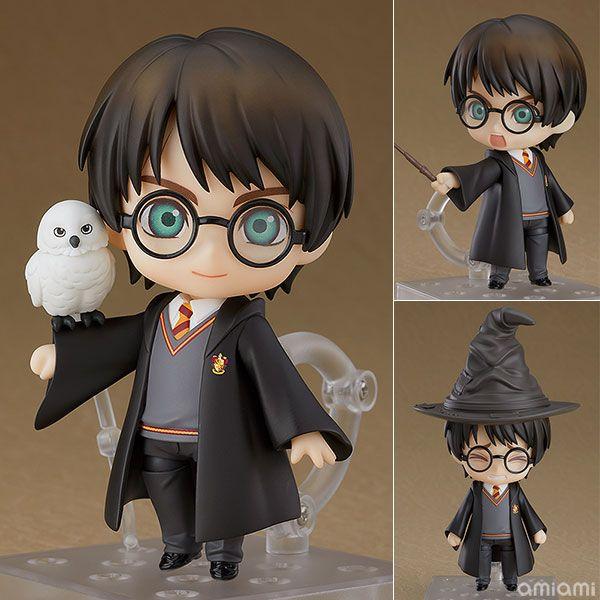 Nendoroid 999 Harry Potter with Hedwig PVC Action Figur Figuren