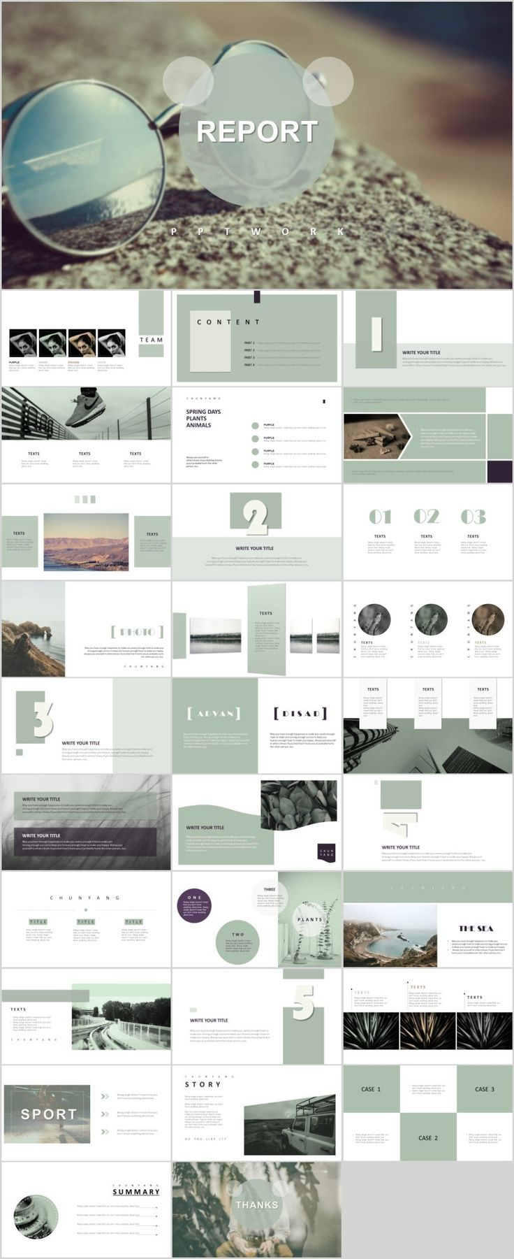 30 magazine style powerpoint templates ppt example pinterest