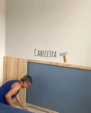 """Photo of Casa De Tecido (morgana) på Instagram: """"O resultado da cabeceira ficou tão legal, que merece um vídeo com os detalhes de como foi feita. ❤️🔨 Boa sexta! . . . #diydecor # bomdia… """""""