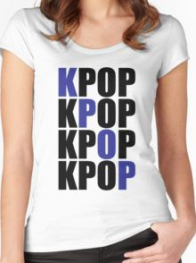 KPOP 2 Women's Fitted Scoop T-Shirt