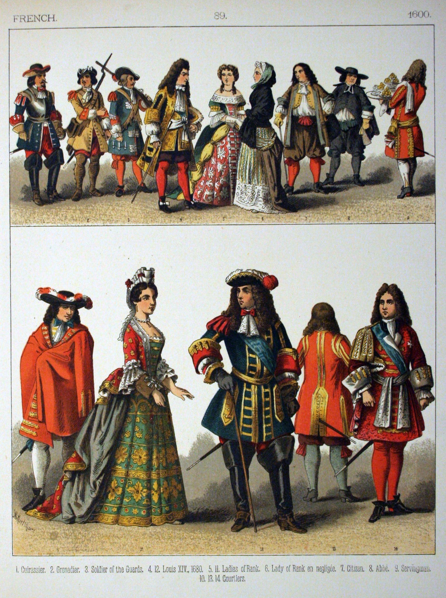 1670 - French fashion