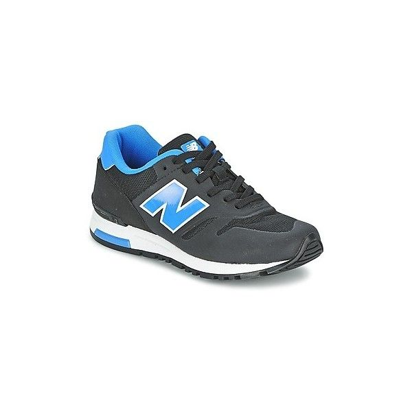 New Balance ML565 Shoes (Trainers) (150 CAD) ❤ liked on Polyvore featuring shoes, sneakers, black, trainers, women, kohl shoes, new balance footwear, black sneakers, new balance trainers and black trainers