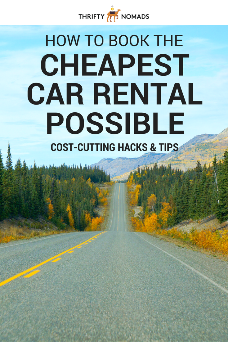 The Cheapest Way To Get A Rental Car