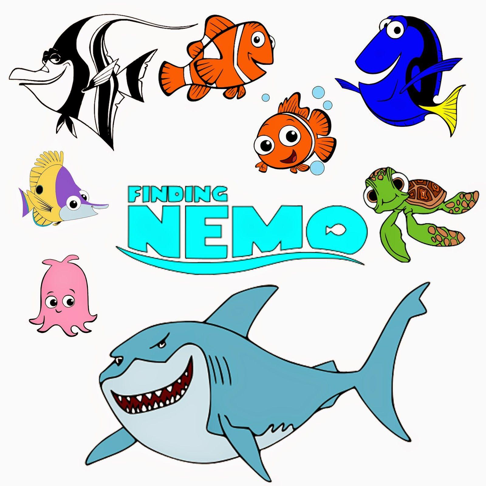 Krafty Nook: Disney's Finding Nemo SVG Files | kp sea clip art ...