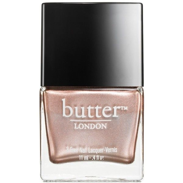 butter LONDON Nail Lacquer Trollop One Size (€14) ❤ liked on Polyvore featuring beauty products, nail care, nail polish, nails, fillers, butter london, butter london nail polish and butter london nail lacquer