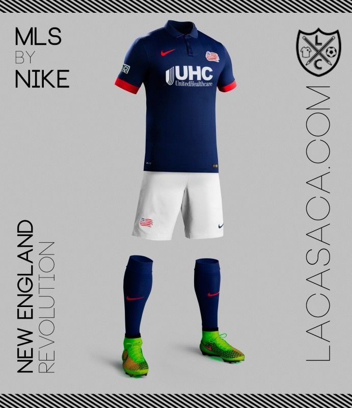 MLS by NIKE - New England Revolution  a6c6d66510ea7