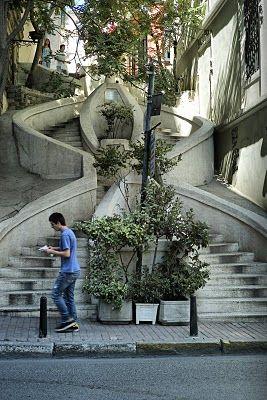 Kamondo stairs-Istanbul