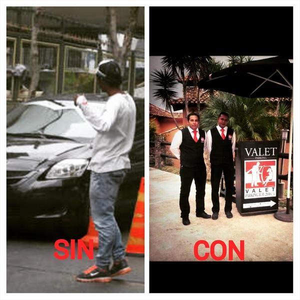 Usted decide !!!! Con o Sin Servico de Valet Parking