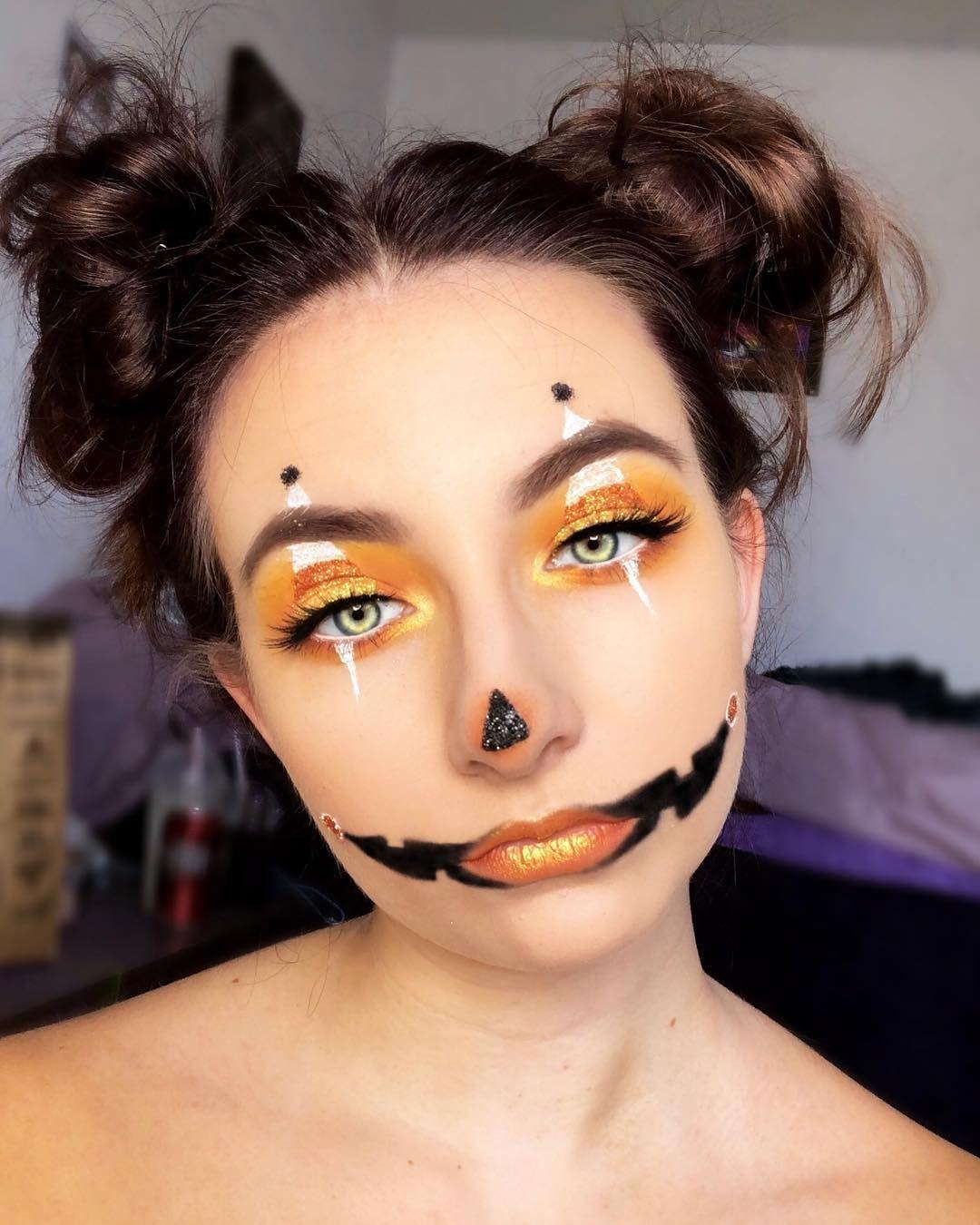 Candy corn face las vegas makeup artist check out
