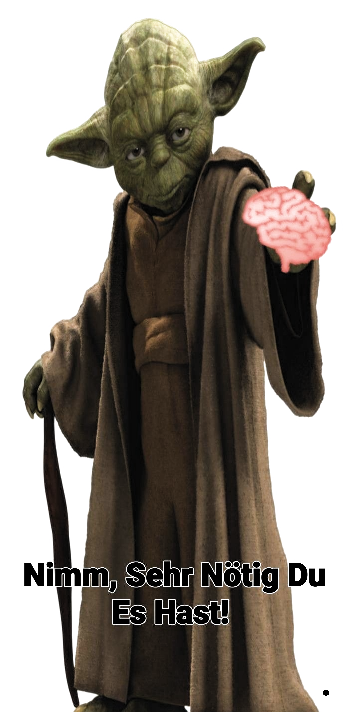 Pin von Hajo Wolli auf Meins in 2020 Yoda witzig, Yoda