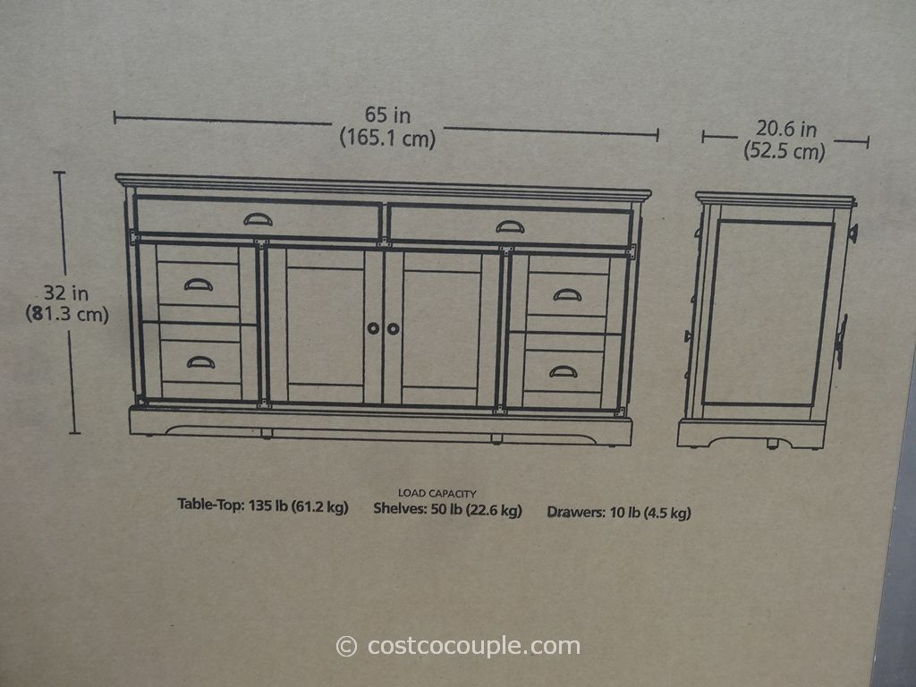 Bayside Furnishings Silverdale 65 Inch Tv Console Costco Bayside Furnishings 65 Inch Tvs Tv Console
