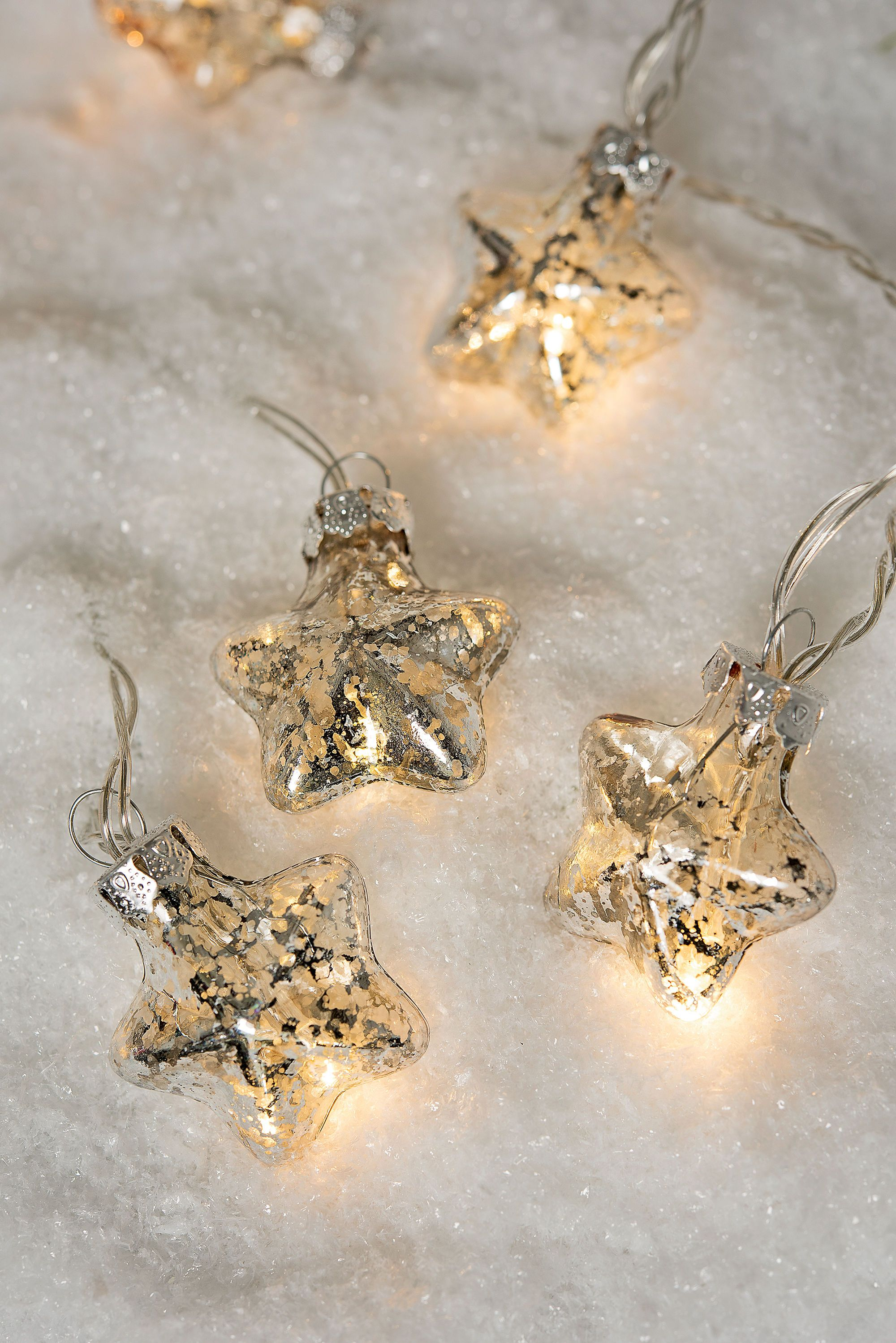 Mini Star LED String Lights Battery Operated with