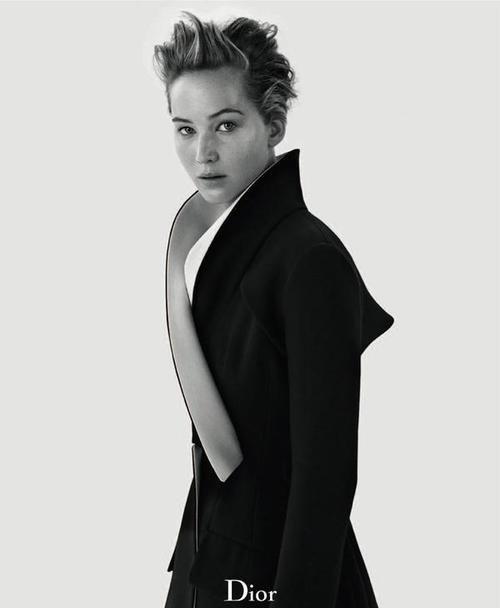 Jennifer Lawrence Poses for 'Dior' Magazine