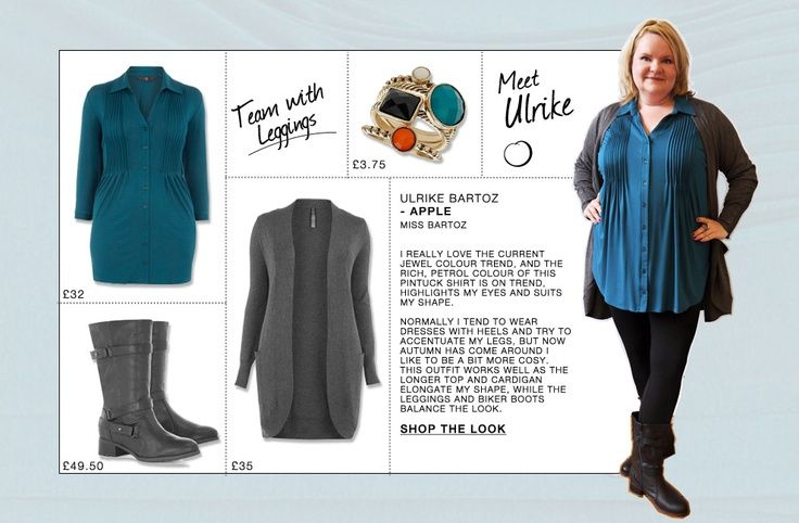 ee1078d520da63 outfits for the apple shape   Bloggers For Your Shape: Meet our Apple,  Ulrike.   Fashion & Style