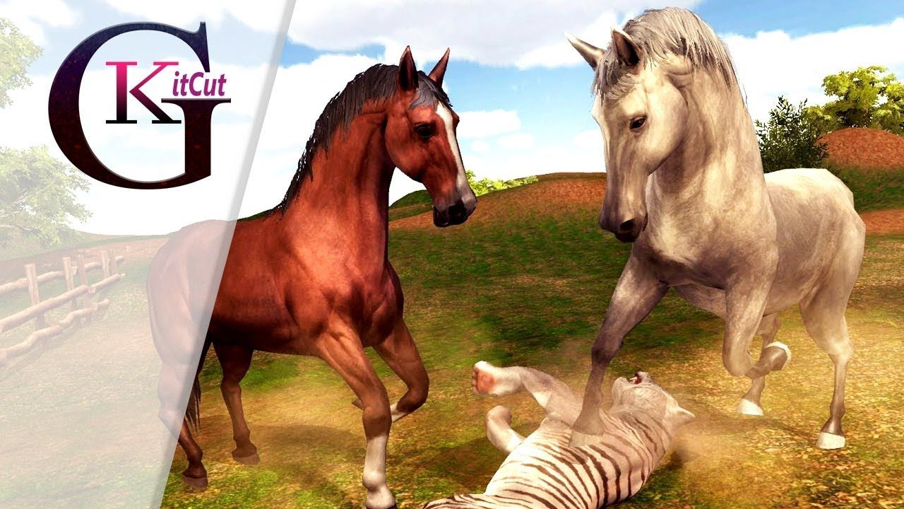 Image of: Sim Virtual Reality Wild Horse Family Sim 3d Animal Games Simulator For K Pinterest Virtual Reality Wild Horse Family Sim 3d Animal Games Simulator