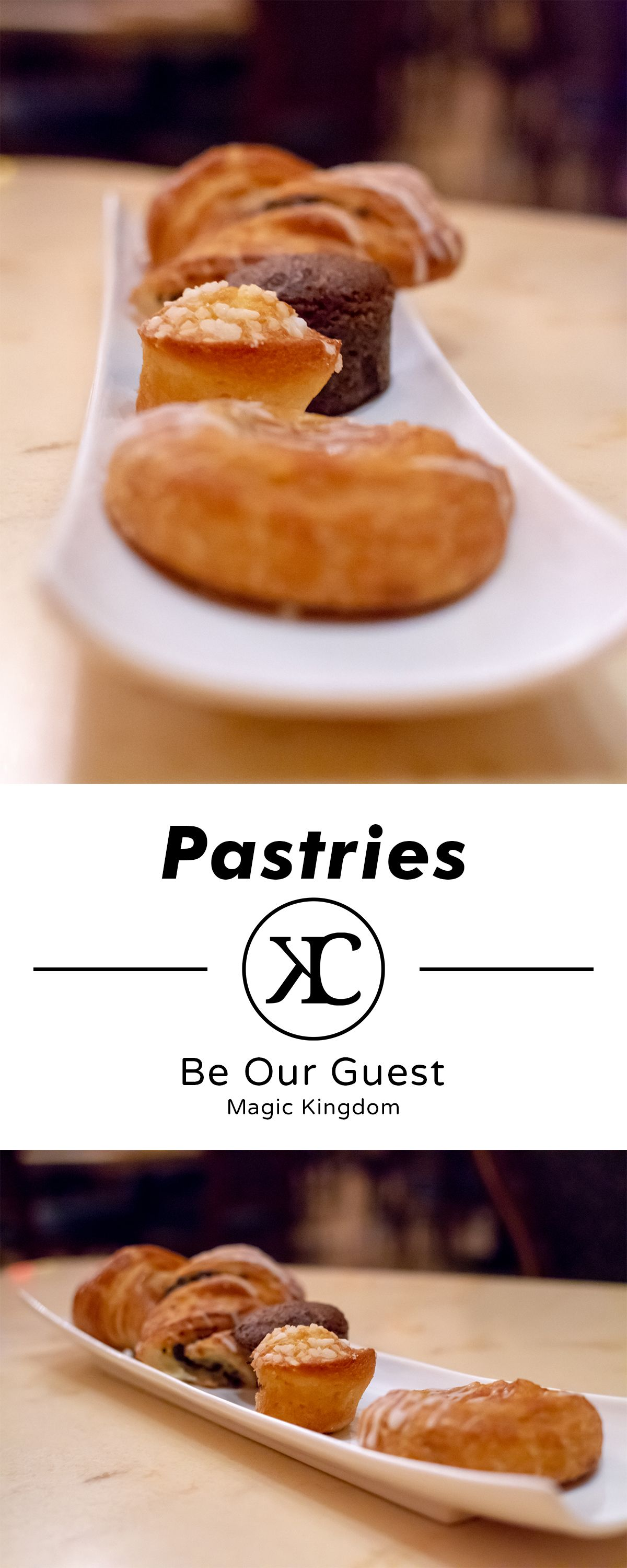 Be our guest pastries kingdom cuisine pastry yummy