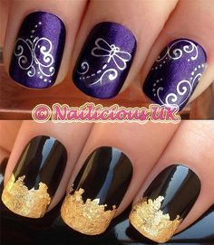 Nail Art Set 29 Dragonfly Swirl Water Nail Transfersdecalsstickers