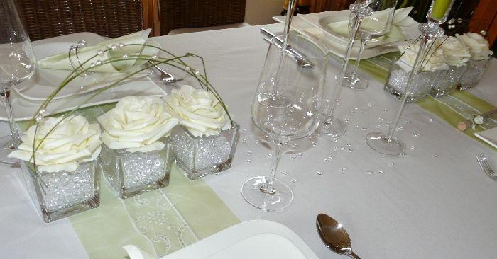 Tischdekorationen tischkarten b nder und gastgeschenke - Deko zur silberhochzeit ...