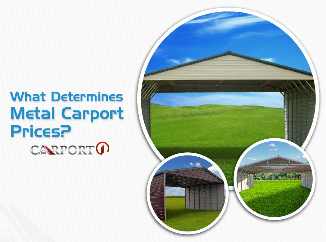 What Determines Metal Carport Prices Portable Carport Carport Metal Carports
