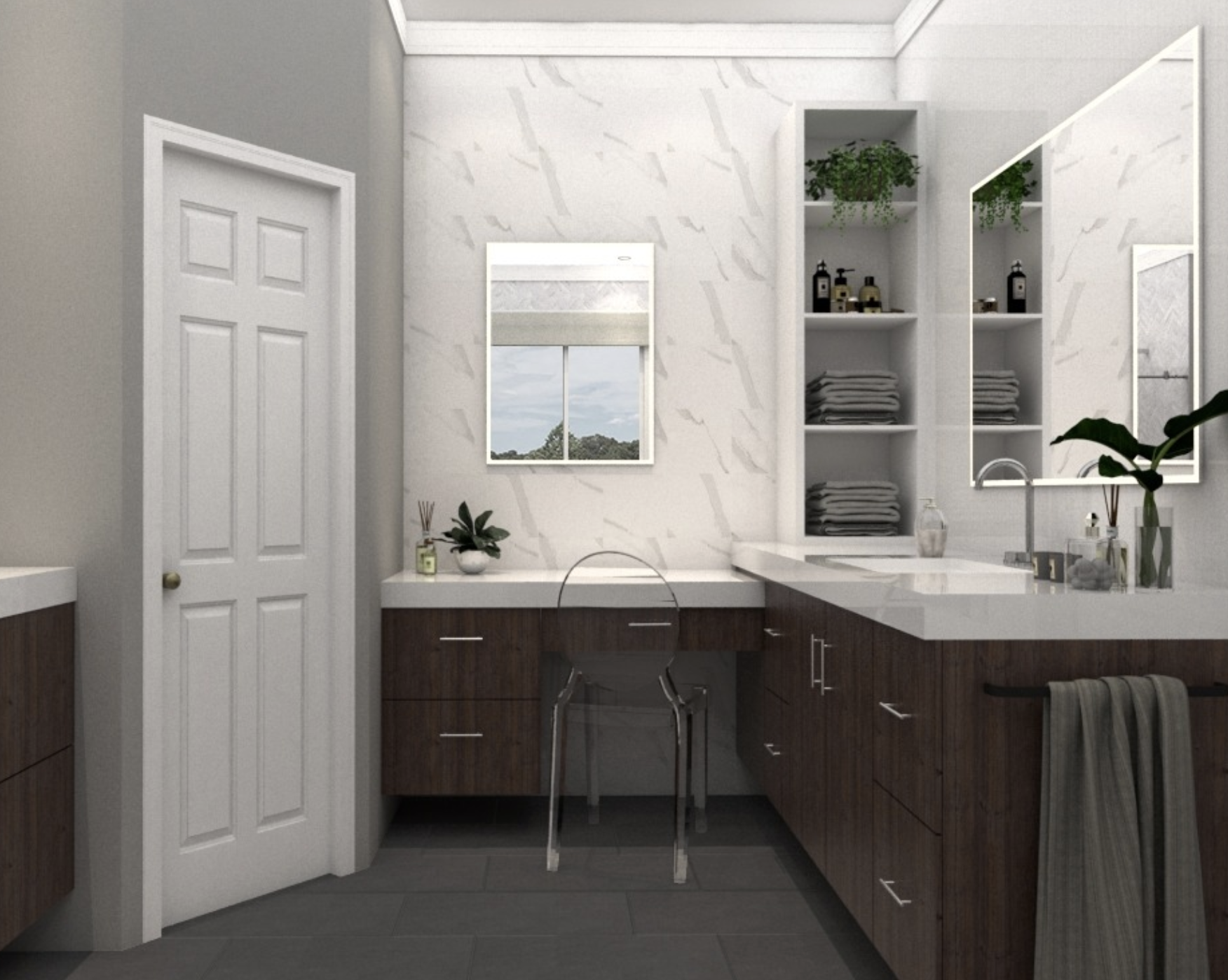 Competition Results See Design Entries For The Masterbath Remodel Competition In Canada Congratulations Bathroom Design Floating Cabinets Shower Cubicles