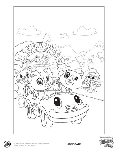 numberland coloring pages - photo#2