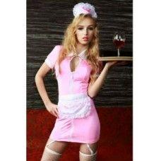 تنكري مضيفه مطعم Bodycon Dress Fashion Mini Dress