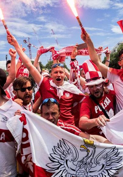 Euro 2016 Fête polonaise à Marseille... et quelques