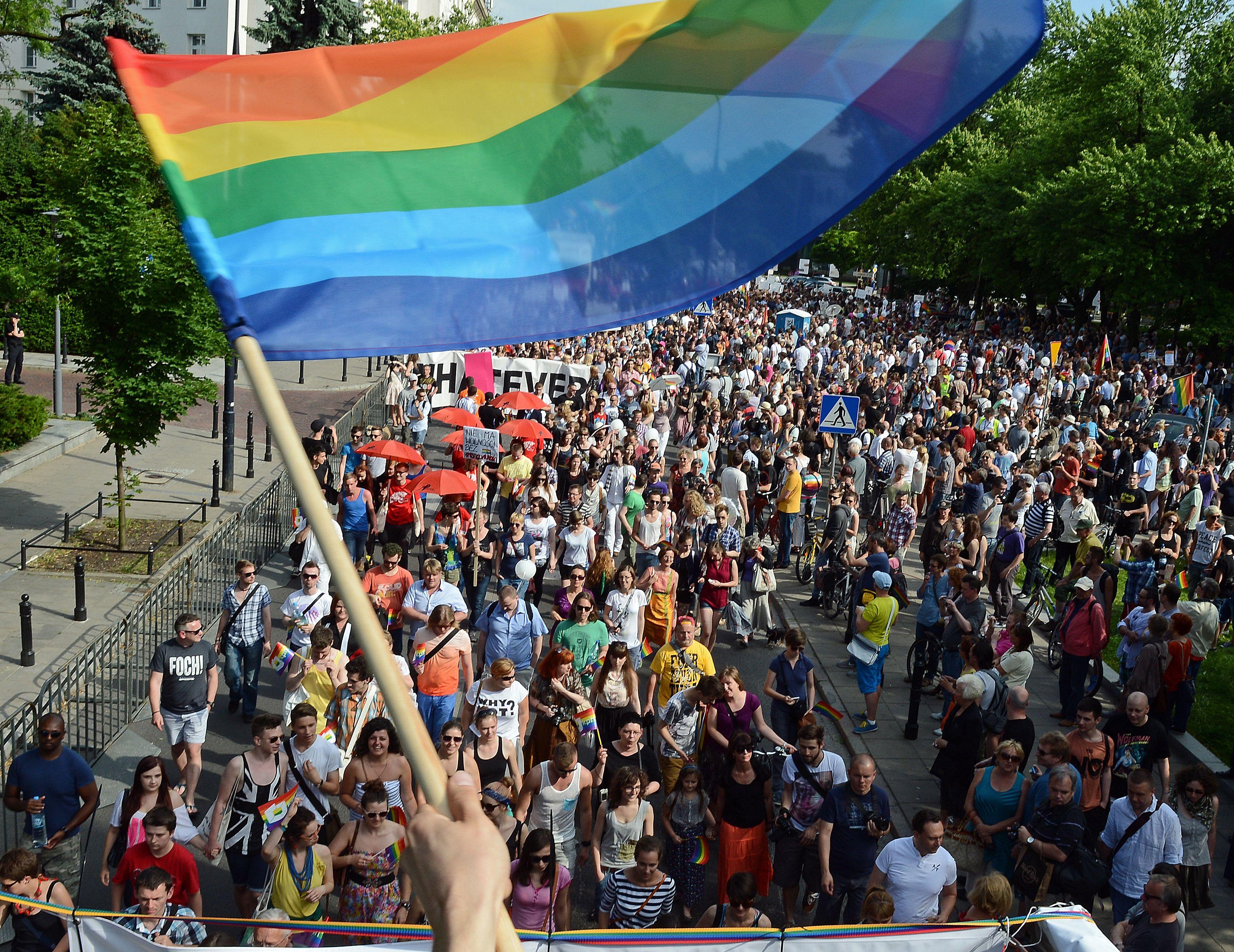 Warsaw gay pride photos