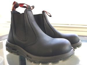 e0d86118642 Redback Work Boots Black Leather Non Steel Toe USBBK