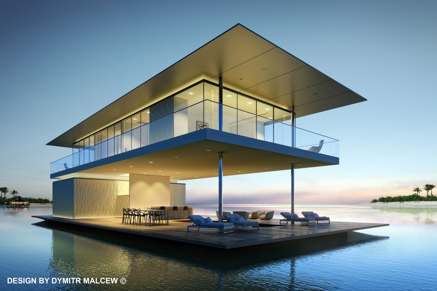 Architecture · Floating House ...