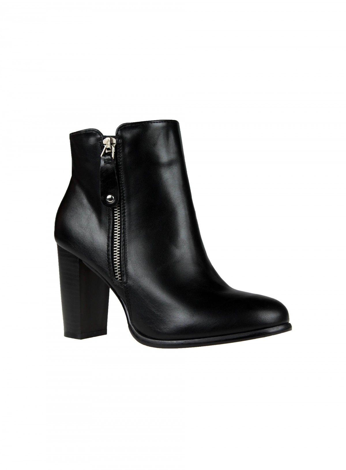 bottes femme noires talons