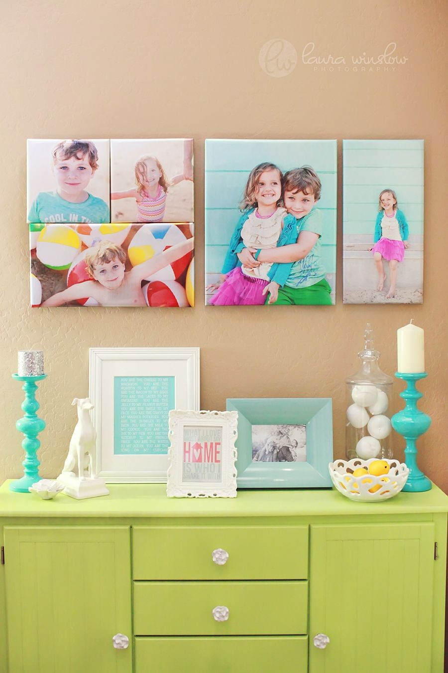 wall art wednesday :: print wrap display from mpixpro :: laura ...