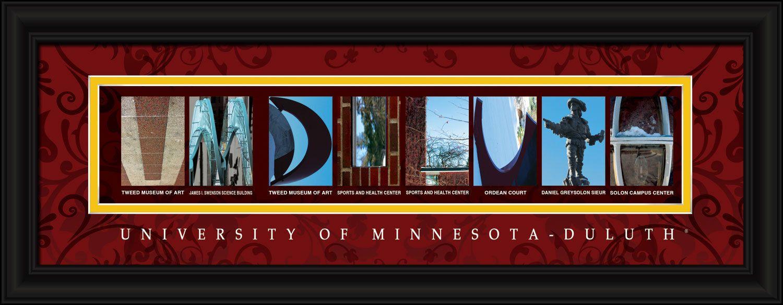 University Of Minnesota Duluth Officially Licensed Framed Letter