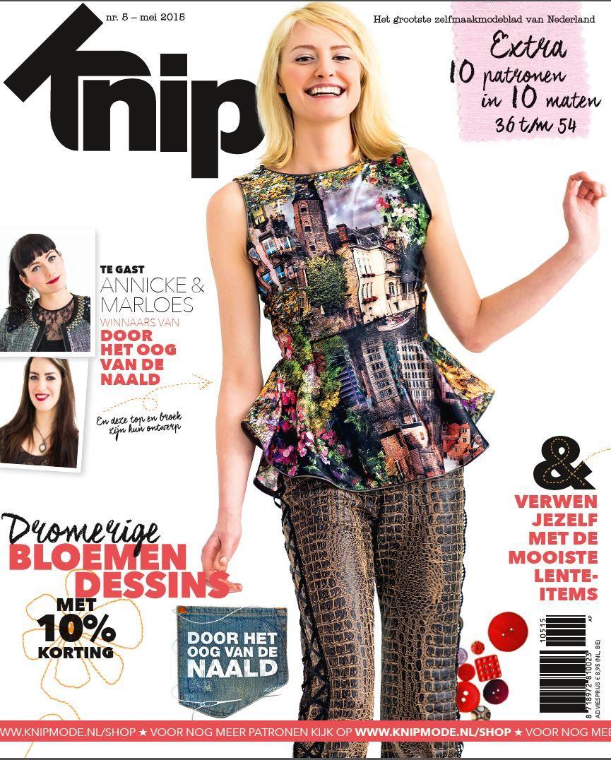 Cover Knipmode mei 2015