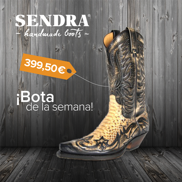 """Una bota que te hará decir """"wow""""  / A boot that will make you say """"wow"""" Reference: 3241 Cuervo Denvertied145 #ShopBoots #SendraBoots #Boots #Python"""
