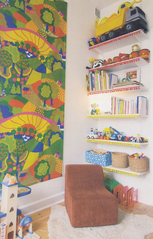 Project Nursery's Round-up of Reading Nooks for Kids - #playroom