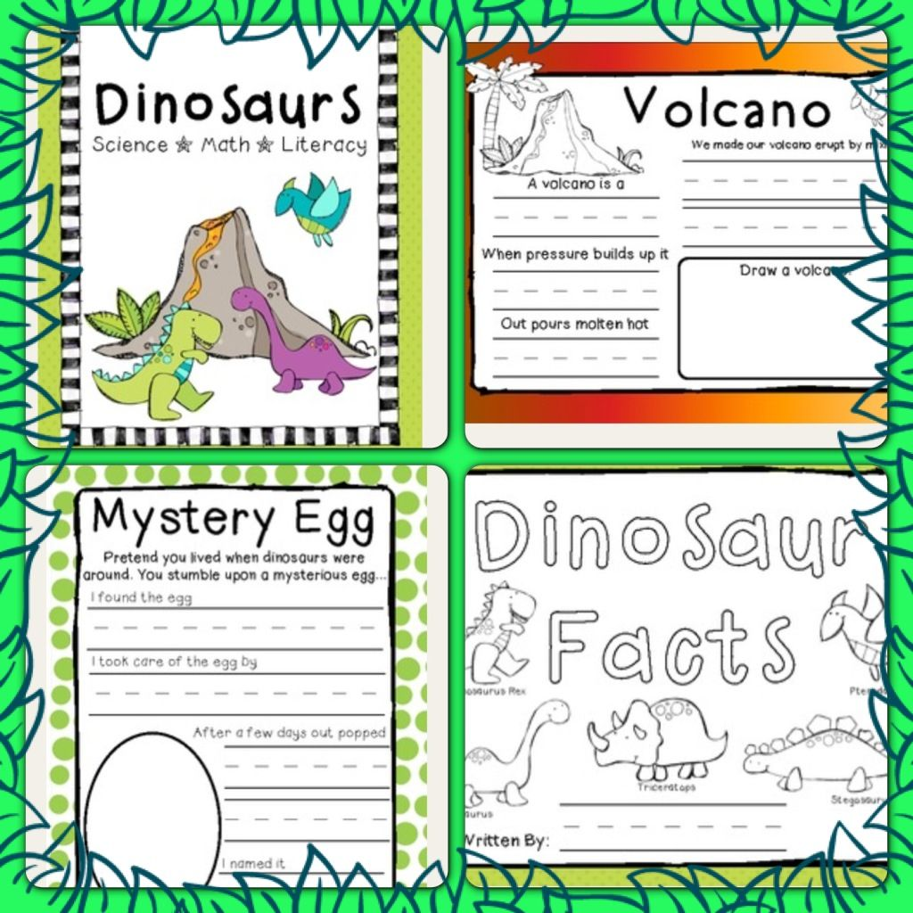 Dinosaur Unit With Images