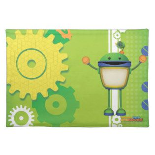 Bot With Cogs Place Mat | Team Umizoomi