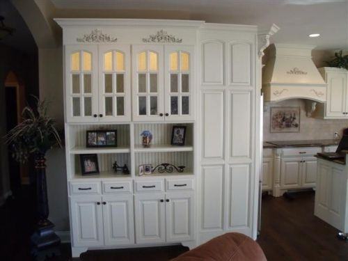 more glass cabinet door   Glass cabinet, Beadboard kitchen ...