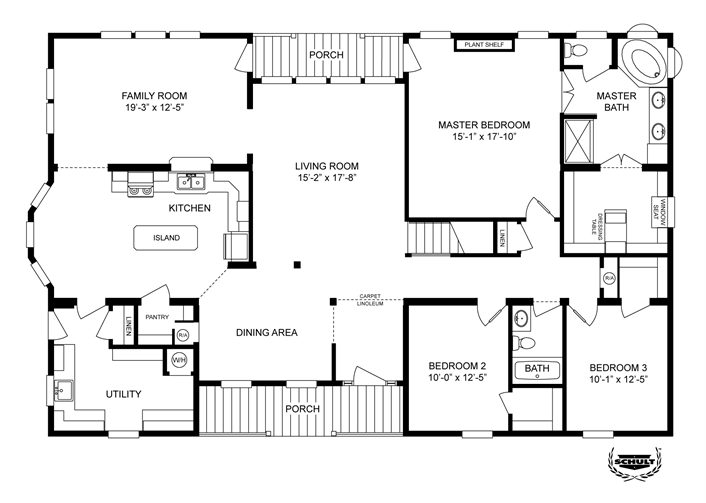 Clayton Homes Home Floor Plan – Clayton Double Wide Homes Floor Plans