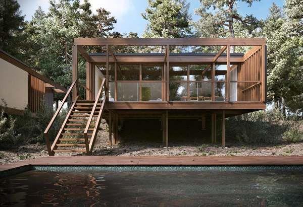 Treevillas on Behance