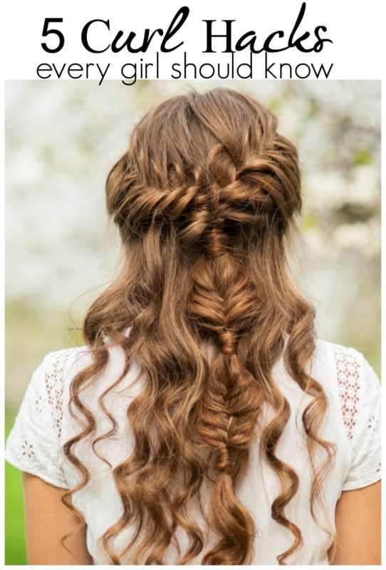 hair styling hacks 5 curl hacks every should curls 7083