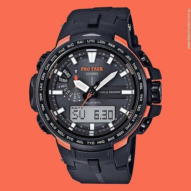 ce6479d391d Casio  ProTrek  Solar Watch