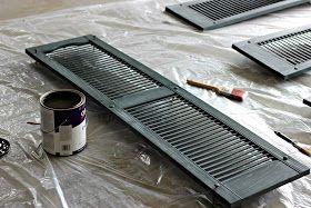 A + Life: Paint those shutters!