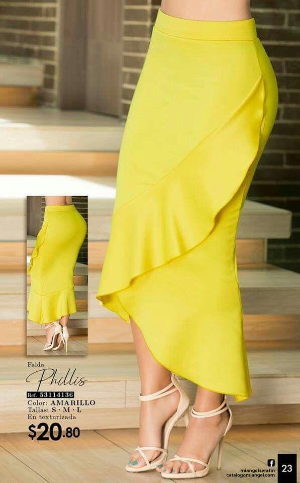 Falda estampads   Moda con faldas largas