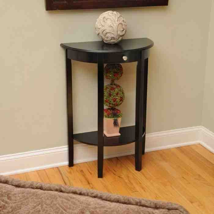 Half Moon Entryway Table Half Moon Console Table Half Moon
